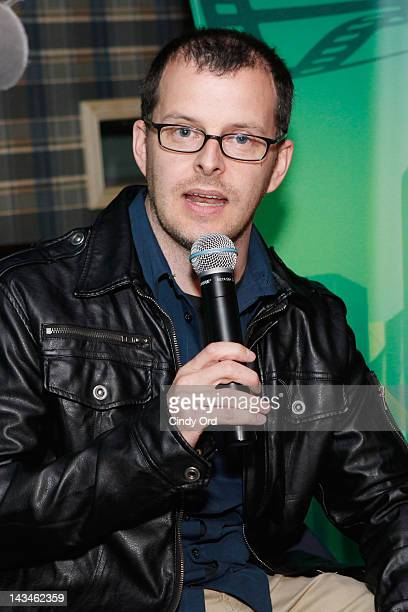 Writer/director Chris Kenneally attends Heineken Presents Side by Side Fan QA on April 26 2012 in New York City