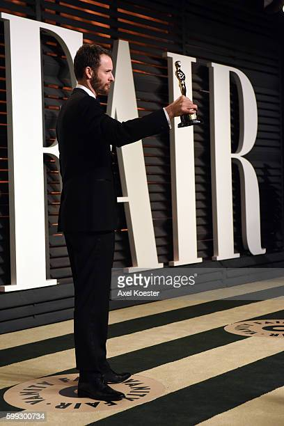 Writer/director Chris Williams Oscar winner for best animated feature for Big Hero 6 attends the 2015 Vanity Fair Oscar Party hosted by Graydon...
