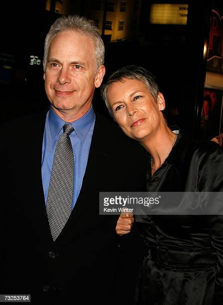 Writer/director Christopher Guest and wife/actress Jamie Lee Curtis arrive at the Warner Bros premiere of Music and Lyrics at the Grauman's Chinese...