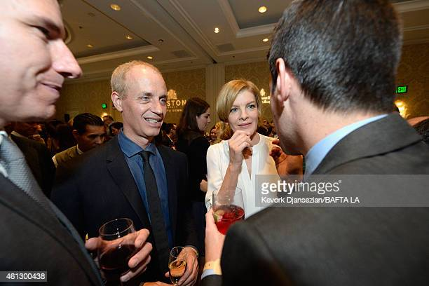Writer/director Dan Gilroy and actress Rene Russo attend the BAFTA Los Angeles Tea Party at The Four Seasons Hotel Los Angeles At Beverly Hills on...