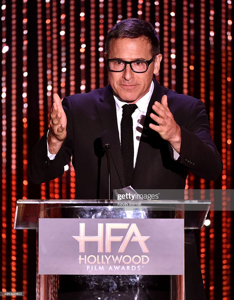 Writer/director David O. Russell speaks onstage during the 19th Annual Hollywood Film Awards at The Beverly Hilton Hotel on November 1, 2015 in Beverly Hills, California.