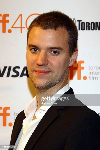 Writer/director David Verbeek attends the Full Contact photo call during the 2015 Toronto International Film Festival at The Elgin on September 15...