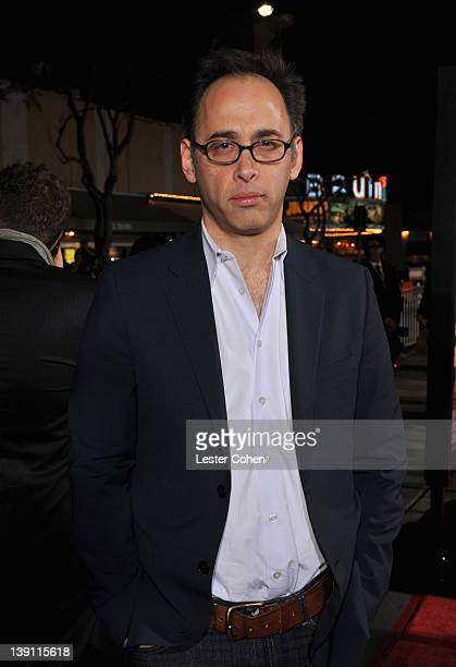 Writer/Director David Wain arrives at the Los Angeles premiere of 'Wanderlust' at Mann Village Theatre on February 16 2012 in Westwood California