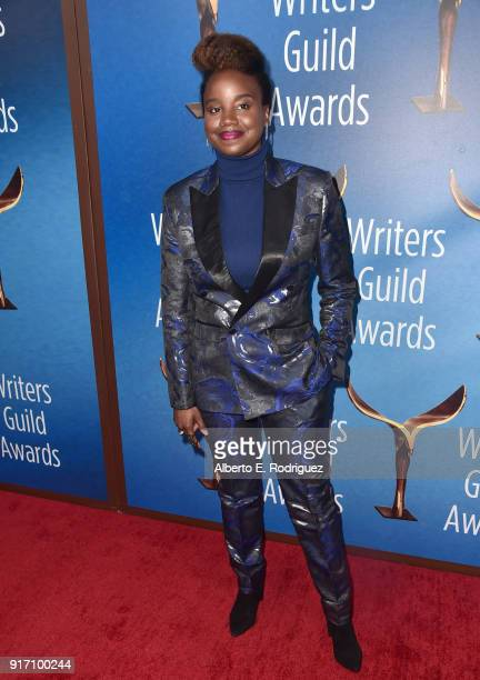 Writerdirector Dee Rees attends the 2018 Writers Guild Awards LA Ceremony at The Beverly Hilton Hotel on February 11 2018 in Beverly Hills California