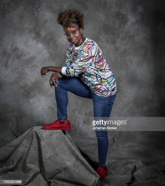 Writer/director Dee Rees poses for a portrait at the Savannah Film Festival on October 29, 2017 at Savannah College of Art and Design in Savannah,...