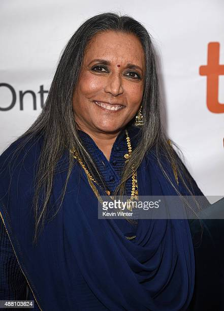 Writer/Director Deepa Mehta attends the Beeba Boys premiere during the 2015 Toronto International Film Festival at Roy Thomson Hall on September 13...