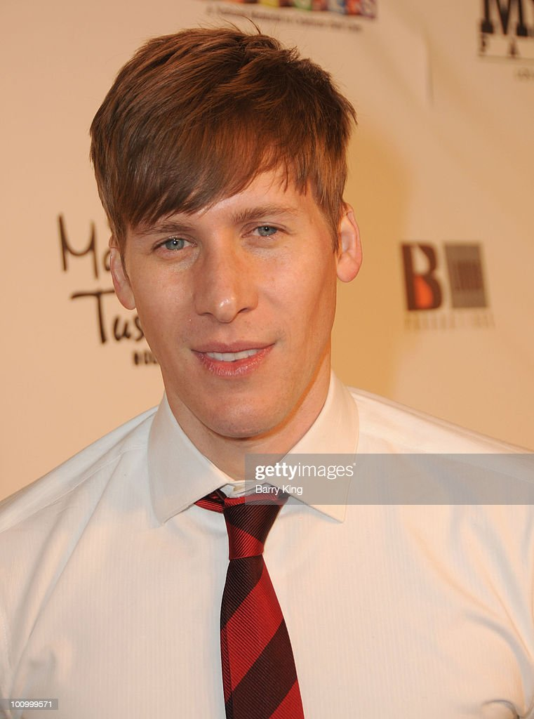 Writer/director Dustin Lance Black attends the Official Los Angeles Event Celebrating Harvey Milk Day at Madame Tussaud's Hollywood on May 22, 2010 in Hollywood, California.