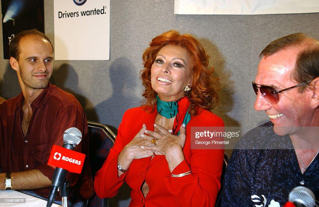 Edoardo Ponti Sophia Loren
