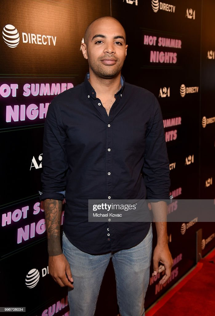 Writer/director Elijah Bynum attends the Los Angeles Special Screening of 'Hot Summer Nights' on July 11, 2018 in Los Angeles, California.