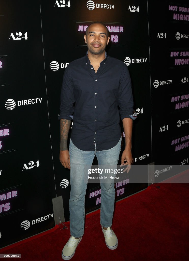 Writer/Director Elijah Bynum attends the screening of A-24's 'Hot Summer Nights' at the Pacific Theatres at The Grove on July 11, 2018 in Los Angeles, California.