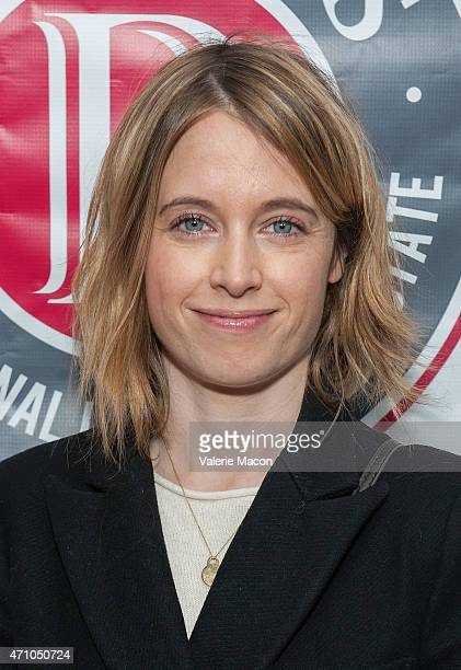 Writer/director Elodie Namer arrives at COLCOA French Film Festival Barnes After Party at Heritage Fine Wines on April 24 2015 in Beverly Hills...