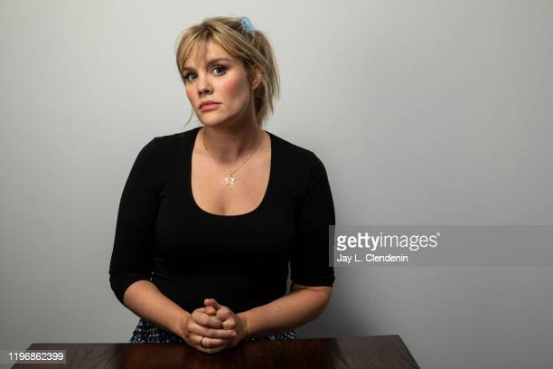 Writer/director Emerald Fennell from 'Promising Young Woman' is photographed in the LA Times Studio at the Sundance Film Festival on January 25 2020...