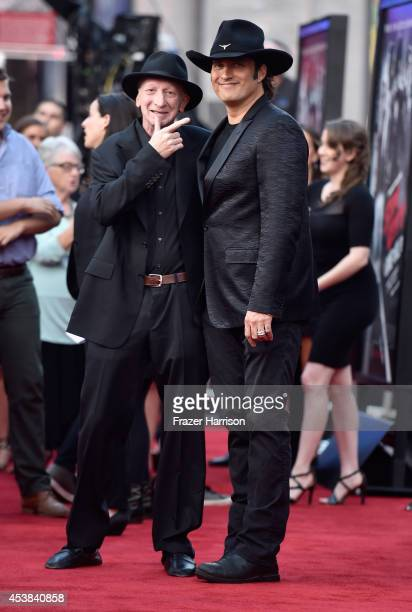 Writer/director Frank Miller and director Robert Rodriguez attend Premiere of Dimension Films' Sin City A Dame To Kill For at TCL Chinese Theatre on...