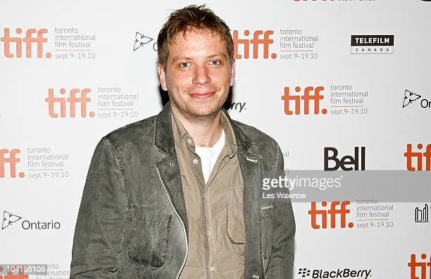 Writer/director Gareth Edwards attends Monsters Premiere during the 35th Toronto International Film Festival at Ryerson Theatre on September 16 2010...