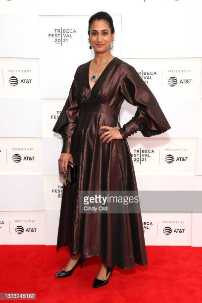 """Writer/director Geeta Malik attends the 2021 Tribeca Festival Premiere of """"India Sweets And Spices"""" at Brookfield Place on June 12, 2021 in New York..."""