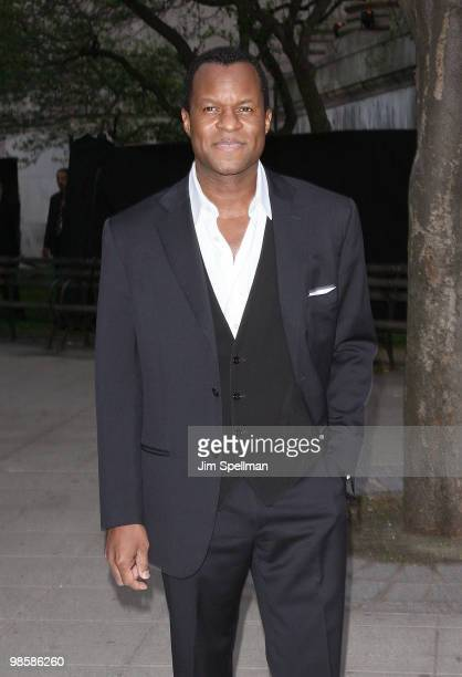 Writer/director Geoffrey Fletcher attends the Vanity Fair Party during the 9th Annual Tribeca Film Festival at New York State Supreme Court on April...
