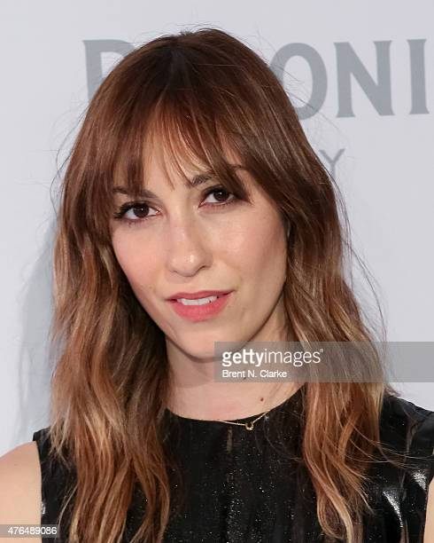 Writer/director Gia Coppola arrives for the Grazie Cinema Series Launch held at Hudson Terrace on June 9 2015 in New York City