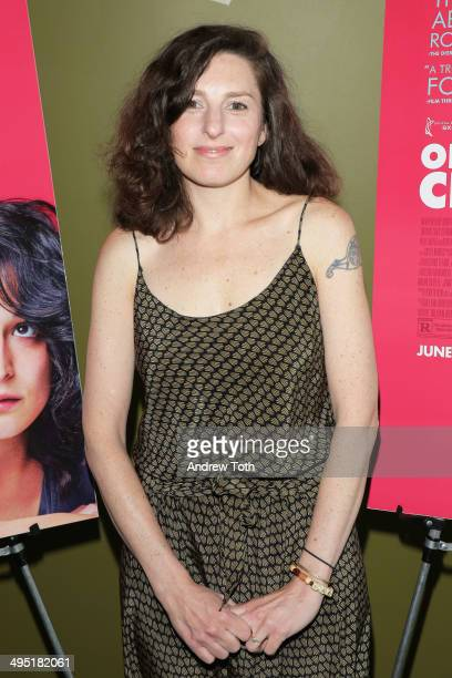Writer/director Gillian Robespierre attends the Obvious Child special screening on June 1 2014 in New York New York