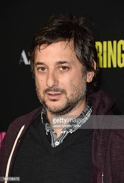 Writer/Director Harmony Korine attends the 'Spring Breakers' premiere at ArcLight Cinemas on March 14 2013 in Hollywood California