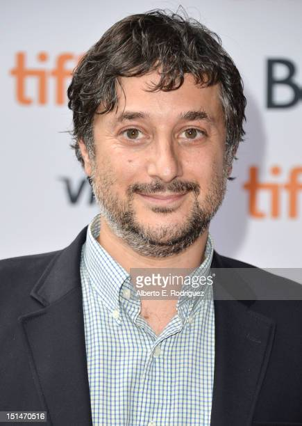 Writer/director Harmony Korine attends theSpring Breakers premiere during the 2012 Toronto International Film Festival at Ryerson Theatre on...