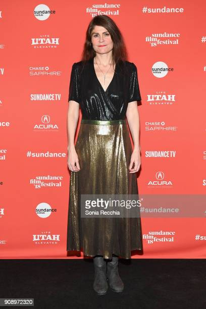 Writer/Director Isold Uggadottir attends the And Breathe Normally Premiere during the 2018 Sundance Film Festival at Prospector Square on January 22...