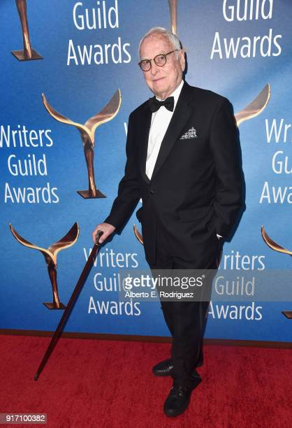 Writerdirector James Ivory attends the 2018 Writers Guild Awards LA Ceremony at The Beverly Hilton Hotel on February 11 2018 in Beverly Hills...