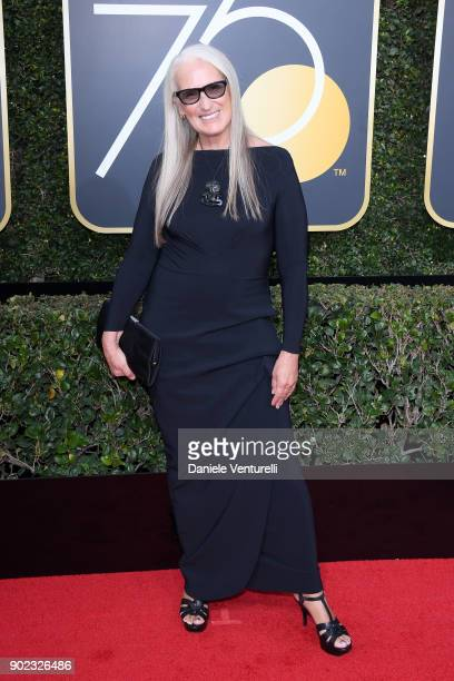 Writer/Director Jane Campion attends The 75th Annual Golden Globe Awards at The Beverly Hilton Hotel on January 7 2018 in Beverly Hills California