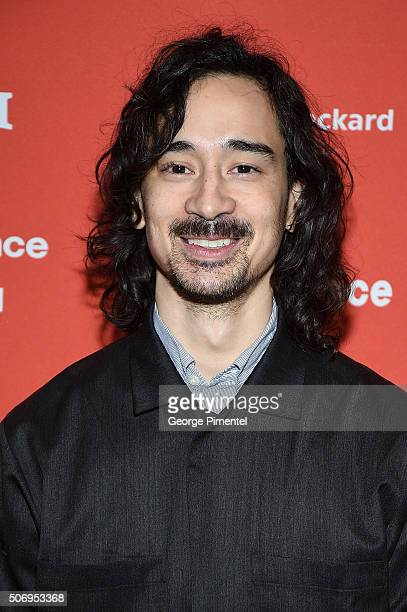 Writer/director Jason Lew attends the The Free World Premiere during the 2016 Sundance Film Festival at Eccles Center Theatre on January 26 2016 in...