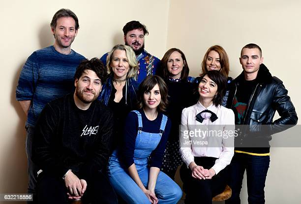 Writer/director Jeff Baena actors Adam Pally Lauren Weedman Jon Gabrus Alison Brie Molly Shannon Kate Micucci Aubrey Plaza and Dave Franco from the...