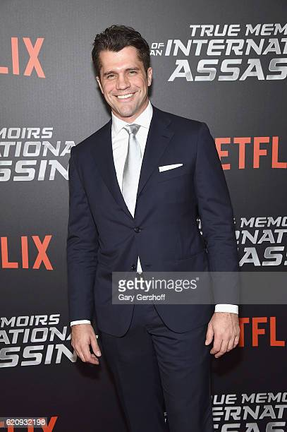 Writer/director Jeff Wadlow attends the 'True Memoirs Of An International Assassin' New York premiere at AMC Lincoln Square Theater on November 3...