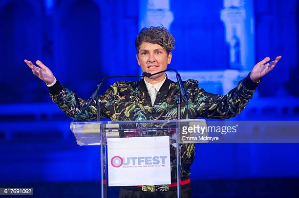 Writer/director Jill Soloway attends the 12th Annual Outfest Legacy Awards at Vibiana on October 23 2016 in Los Angeles California