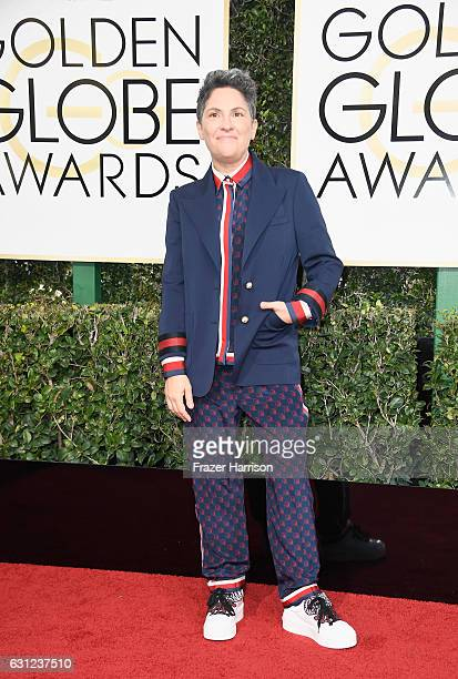 Writer/director Jill Soloway attends the 74th Annual Golden Globe Awards at The Beverly Hilton Hotel on January 8 2017 in Beverly Hills California
