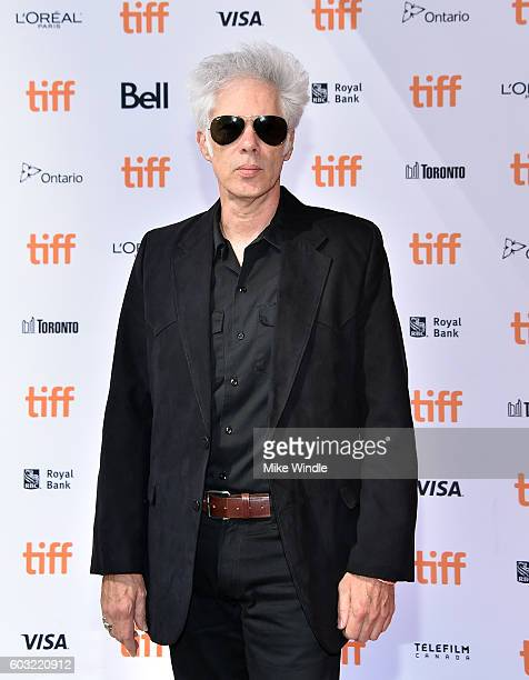 "Writer/director Jim Jarmusch attends the ""Paterson"" premiere during the 2016 Toronto International Film Festival at Ryerson Theatre on September 12,..."