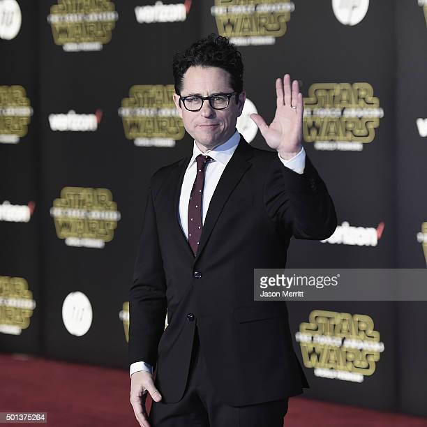 Writerdirector JJ Abrams attends Premiere of Walt Disney Pictures and Lucasfilm's Star Wars The Force Awakens on December 14 2015 in Hollywood...