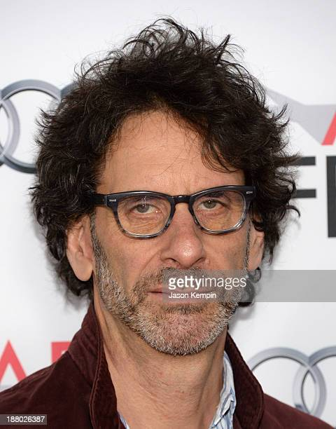 Writer/director Joel Coen attends the AFI FEST 2013 presented by Audi closing night gala screening of Inside Llewyn Davis at TCL Chinese Theatre on...