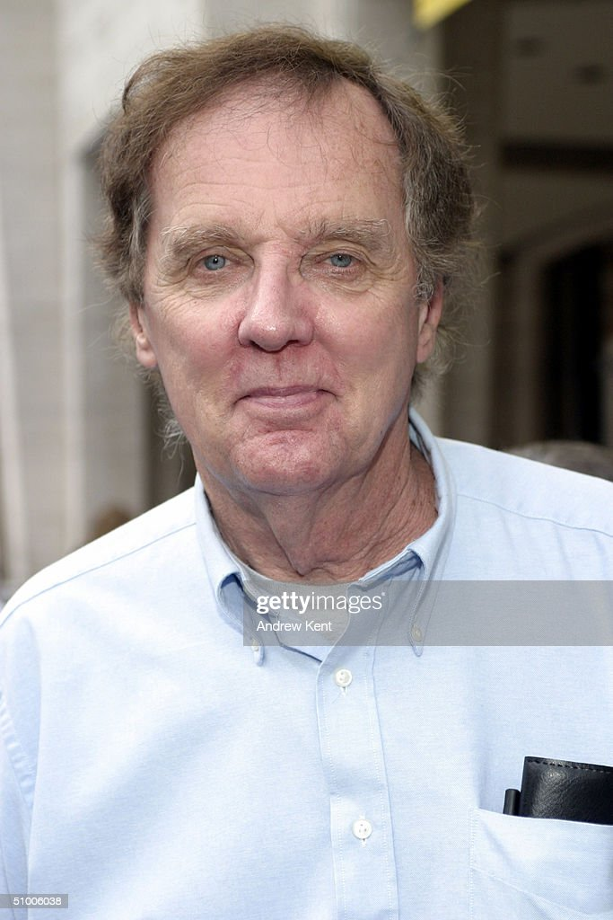 Writer/Director John Mulholland poses outside before MODA Entertainment's Tribute Screening Of 'Pride Of The Yankees' at Lincoln Center on June 28, 2004 in New York City.