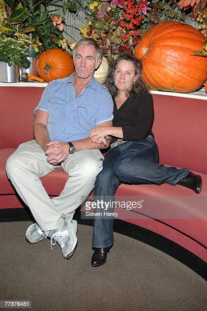 Writer/Director John Sayles and partner Maggie Renzi attend a lunch honoring them by the Savannah Film Festival at Michael's Restaurant October 17,...