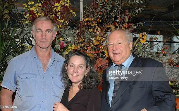Writer/Director John Sayles, partner Maggie Renzi and Bobbie Zarem attend a lunch honoring John Sayles by the Savannah Film Festival at Michael's...