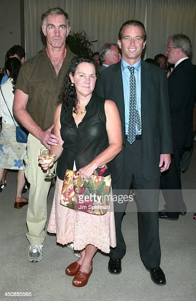 Writer/director John Sayles, producer Maggie Renzi & Robert Kennedy Jr.