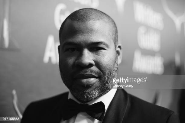 Writerdirector Jordan Peele attends the 2018 Writers Guild Awards LA Ceremony at The Beverly Hilton Hotel on February 11 2018 in Beverly Hills...