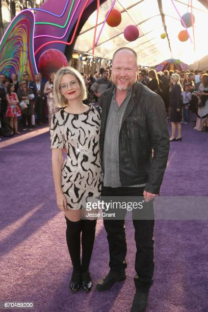 """Writer/director Joss Whedon and guest at The World Premiere of Marvel Studios' """"Guardians of the Galaxy Vol 2"""" at Dolby Theatre in Hollywood CA April..."""