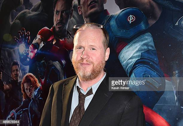 Writer/Director Joss Whedon attends the premiere of Marvel's Avengers Age Of Ultron at Dolby Theatre on April 13 2015 in Hollywood California