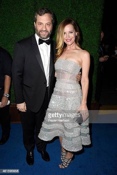 Writer/director Judd Apatow and actress Leslie Mann attend the 20th annual Critics' Choice Movie Awards at the Hollywood Palladium on January 15 2015...