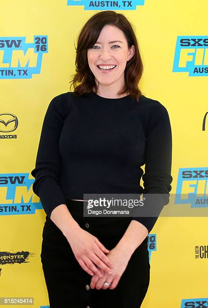 Writer/director Julia Hart attends the premiere of Miss Stevens during the 2016 SXSW Music Film Interactive Festival at Vimeo on March 12 2016 in...