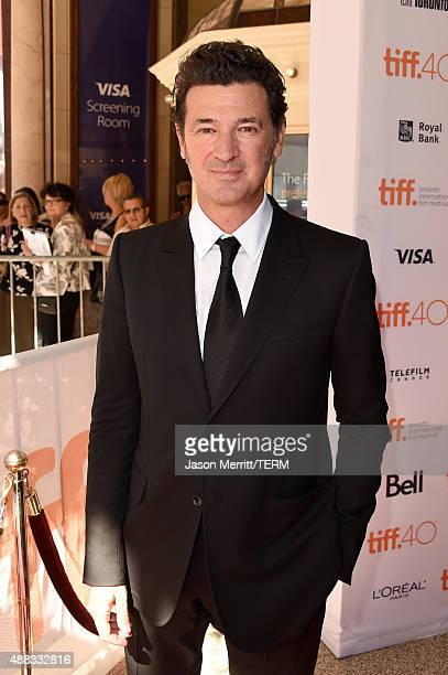 Writer/director Julio Medem attends the Ma Ma premiere during the 2015 Toronto International Film Festival at The Elgin on September 15 2015 in...
