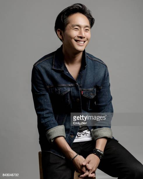 Writer/director Justin Chon is photographed at the Sundance NEXT FEST at The Theatre At The Ace Hotel on August 12 2017 in Los Angeles California