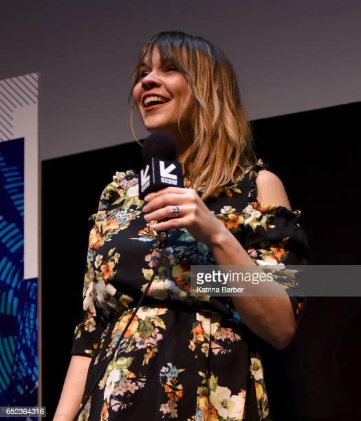 Writer/director Karen Skloss speaks on stage at the premiere of The Honor Farm during 2017 SXSW Conference and Festivals at Stateside Theater on...