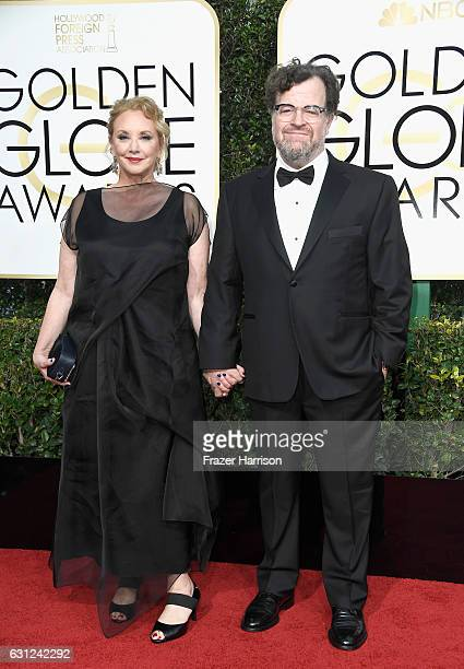 Writer/director Kenneth Lonergan and actress J SmithCameron attend the 74th Annual Golden Globe Awards at The Beverly Hilton Hotel on January 8 2017...