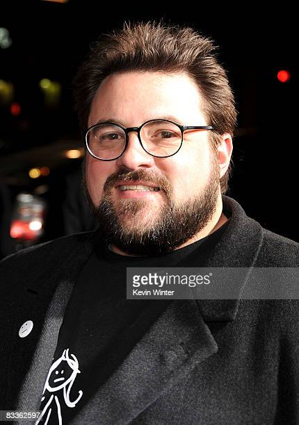 Writer/director Kevin Smith arrives at the Zack and Miri Make a Porno premiere held at Grauman's Chinese Theater on October 20 2008 in Los Angeles...