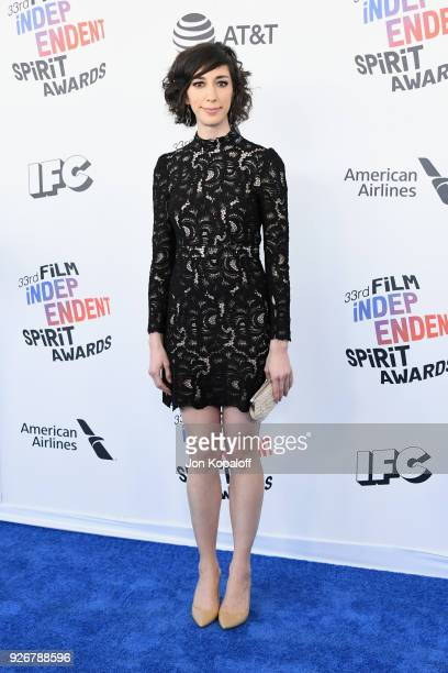 Writerdirector Lana Wilson attends the 2018 Film Independent Spirit Awards on March 3 2018 in Santa Monica California